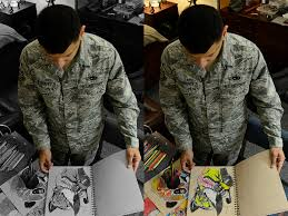 Color Blind Camouflage Face Of Defense Colorblind Airman Overcomes Hurdles To Succeed As