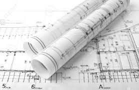 architect rolls and plans stock photo picture and royalty free