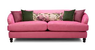 Pink Sofa Bed Fliss 4 Seater Sofa Dfs