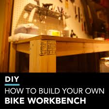 How To Build This Diy Workbench by Diy How To Build Your Own Bike Workbench Singletracks Mountain