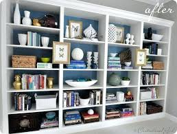 Billy Bookcase Hack Built In Bookcase Wall To Wall Bookshelf Designs Wall To Wall Shelf Plans