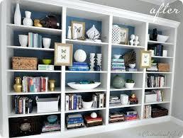 Ikea Billy Bookcase Ideas Bookcase Wall To Wall Bookshelf Designs Wall To Wall Shelf Plans