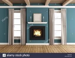empty living room fireplace rendering stock photos u0026 empty living