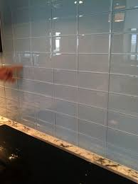 crushed glass tile backsplash u2013 blue gray 3x6 subway glass tile designer quality beyond idolza