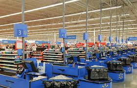 led lights walmart walmart s first all led lit super center in south euclid oh ge