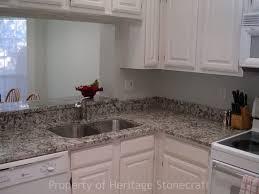 Antique White Kitchen Cabinets Granite Countertop Antique White Kitchen Cabinet Tiled