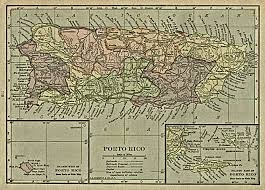 Map Puerto Rico Geology Of Puerto Rico Showing Luquillo Webb Watersheds