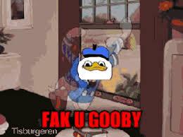 fak u gooby dolan know your meme