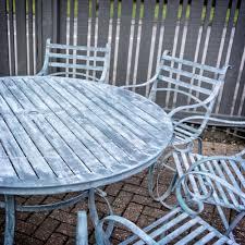 Aluminium Garden Chairs Uk Buy Verdigris Round Garden Dining Tables Burford Garden Company