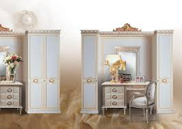 classic wardrobe classic wardrobe white lacquered with gold leaf decorations