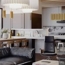 black lacquer kitchen cabinets home designs leks architects kiev apartment monochrome lacquered