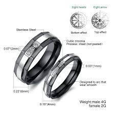 wedding rings black rings black wedding rings his and - Black Wedding Rings His And Hers