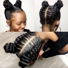 weave two duky braid hairstyle 20 cute hairstyles for black teenage girls