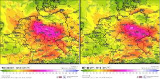 Journey Map Mod Live Wetter Ticker Sturm Friederike Am Donnerstag U2013 Wetterkanal