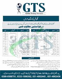 gts jobs 2017 global testing service online application form download