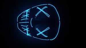 flashing led purge mask for halloween buy purge mask flashing