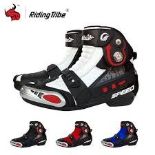motorbike boots on sale aliexpress com buy riding tribe men u0027s motorcycle boots pu
