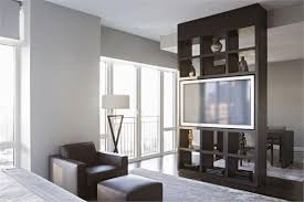 Custom Room Dividers by For Tv In Master High End Custom Made Built In Shelve By Aguirre