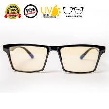 glasses that block fluorescent lights amazon com blue light blocking glasses for digital eye strain