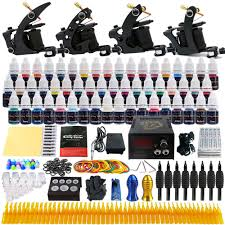 tattoo kit without machine beginner starter complete tattoo kit professional tattoo machine kit