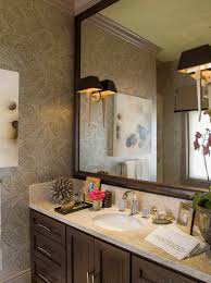 Framed Mirrors Bathroom Framed Bathroom Mirrors Bathroom Traditional With Bathroom Vanity