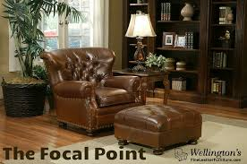 Best Leather Chair And Ottoman How To Select The Best Leather Club Chair