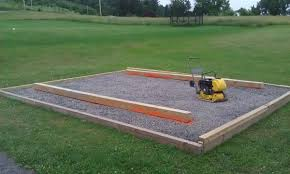 Gravel For Patio Base Shed Skid Leveling On Gravel Doityourself Com Community Forums