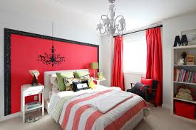 Cool Bedroom Accessories by Cool Teen Rooms For Bedroom Spectacular Red And Complete With