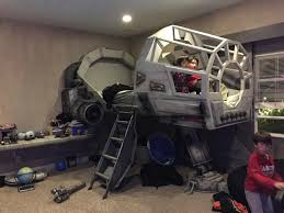 The Best Bedrooms Have A Millennium Falcon Cockpit Nerdist - Star wars kids rooms