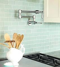 glass tile backsplash ideas bathroom blue glass tile transitional kitchen artistic designs for living