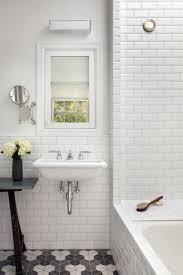 floor half hex tiles by heath ceramics wall beveled subway tile