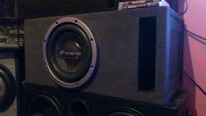 pioneer photo box pioneer chion pro 3500watts 1000rms tuned 32hz custom enclosure