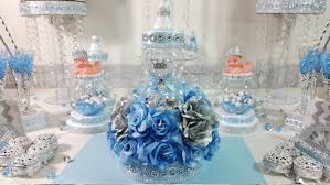 Centerpiece For Baby Shower by Royal Baby Shower Centerpiece For Royal Baby Shower Baby Blue