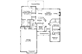 Ranch Floor Plans Ranch House Plans Hills Creek 10 573 Associated Designs