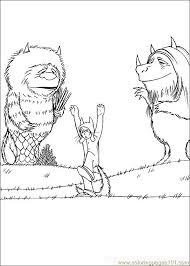 wild coloring pages wherethewildthingsare