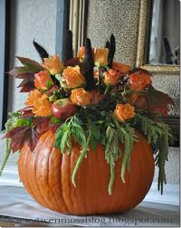 how to make a beautiful pumpkin centerpiece step by step