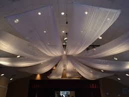 ceiling draping draping on the move productions