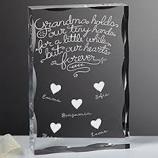 personalized keepsakes personalized keepsake grandchildren fill our hearts