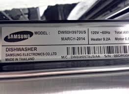 Samsung Dw80f600uts Dishwasher Reviews Samsung Waterwall Dishwasher Manual Fails Consumer Reports U0027 Wash