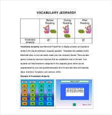jeopardy template for teachers 10 free word pdf ppt documents