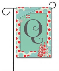 monogram christmas monogram christmas flags flagology