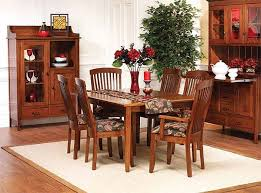 Shaker Dining Room Furniture Newport Shaker Dining Room Set Walnut Creek Furniture