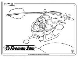 tom helicopter fireman sam coloring pages pbs kids