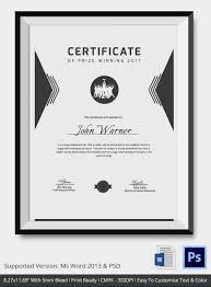 winner certificate template powerpoint imts2010 info