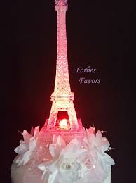 eiffel tower centerpieces led eiffel tower light up cake topper wedding cocktail table