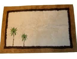 Palm Tree Bathroom Rug Palm Tree Bath Rugs Home Design Ideas