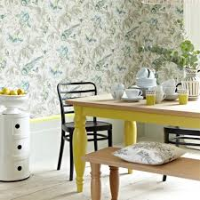 Wallpaper For Dining Room by Country Style Rooms Bedroom Dining Room And Kitchen Ideas