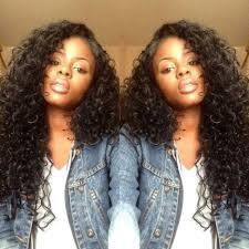 rihanna hairstyle african american long deep curly wigs synthetic
