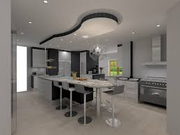 modern island kitchen intricate living kitchens