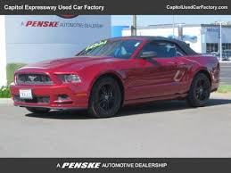 ford mustang 2014 convertible price used 2014 ford mustang convertible pricing for sale edmunds